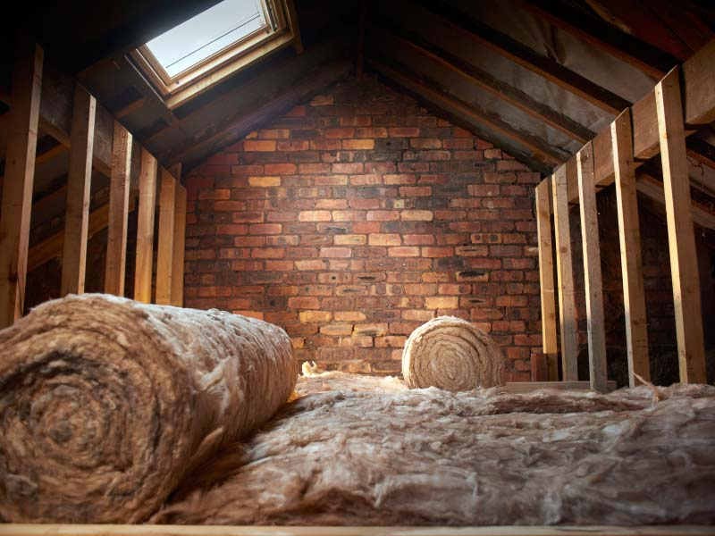 Loft Insulation and Boarding
