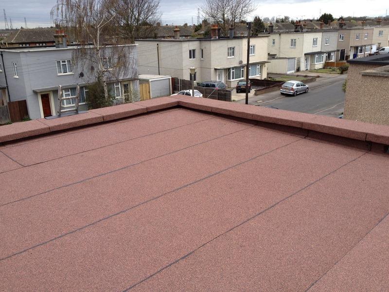 Felt Roof in East Tilbury