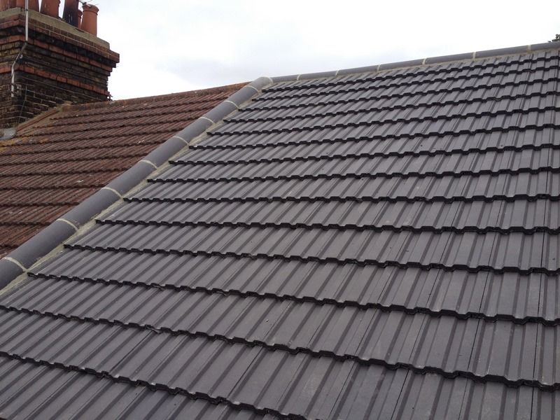 New Tiled Roof In Rayleigh