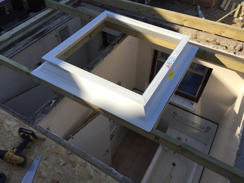 Roof Light for Fibreglass Roof